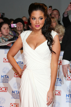 National Television Awards 2013 held at the O2 arena - ArrivalsFeaturing: Tulisa Contostavlos Where: London, United Kingdom When: 23 Jan 2013 Credit: Lia Toby/WENN.com