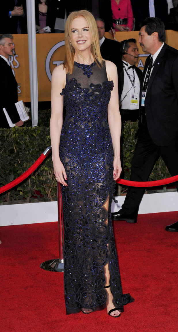 19th Annual Screen Actors Guild (SAG) Awards held at the Shrine Auditorium - Arrivals Featuring: Nicole Kidman