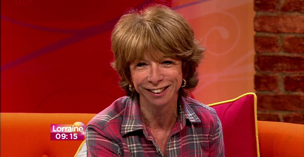 Helen Worth talks about her current story lines in Coronation Street on 'Lorraine Live'