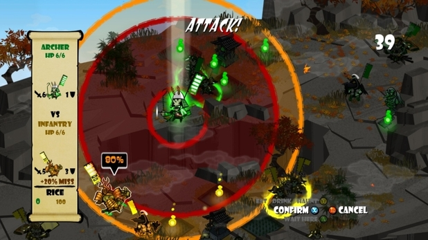 'Skulls of the Shogun' screenshot