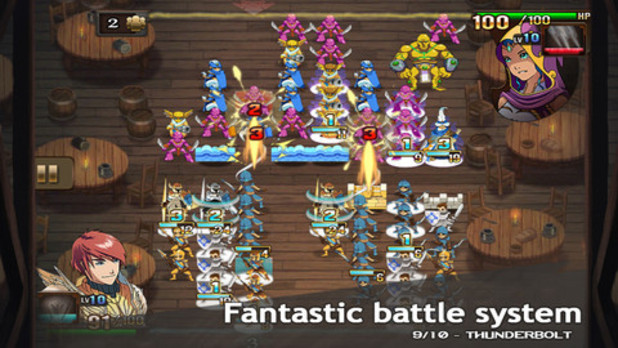 'Might & Magic Clash of Heroes' screenshot