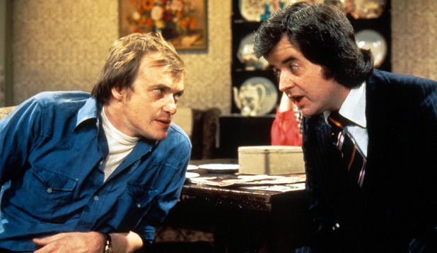 'The Likely Lads' still: James Bolam, Rodney Bewes