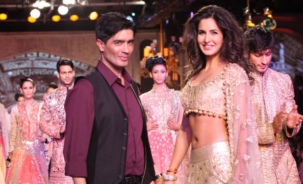 Manish Malhotra Angeli Foundation fashion event: Katrina Kaif and Manish Malhotra