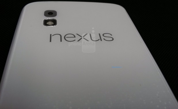 White Google Nexus 4