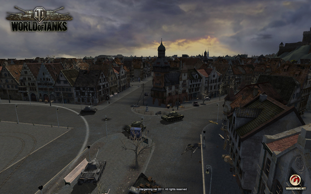'World of Tanks' screenshot