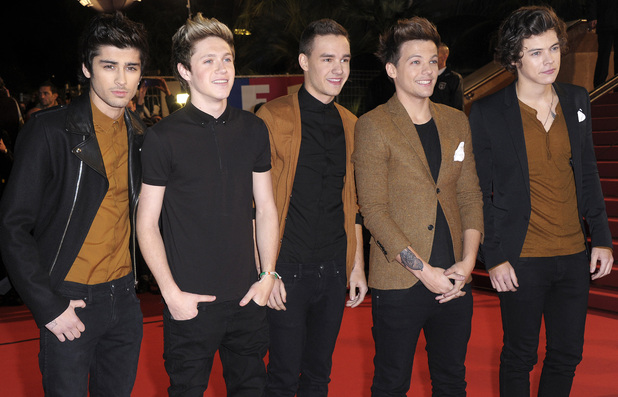 2013 NRJ Music Awards held at the Palais des Festivals - ArrivalsFeaturing: Zayn Malik,Niall Horan,Liam Payne,Louis Tomlinson,Harry Styles,One Direction Where: Cannes, France When: 26 Jan 2013 Credit: WENN.com**Only Available for publication in the UK and USA**