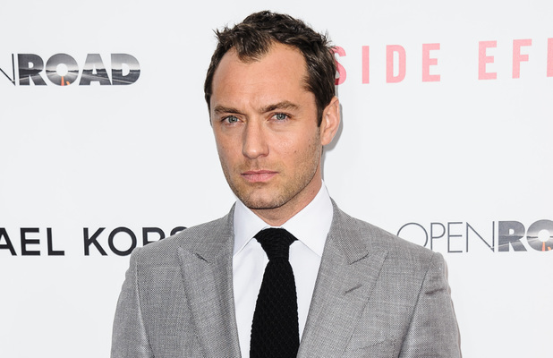 "New York Premiere of ""Side Effects"" held at the AMC Lincoln Square Theater Featuring: Jude Law Where: New York City, NY, United States"