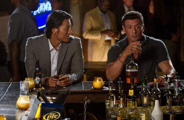 Sylvester Stallone and Sung Kang star in Walter Hill's new action thriller 'Bullet to the Head'.