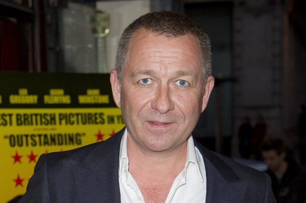 Sean Pertwee arrives at the UK Premiere of Wild Bill at a central London cinema, Tuesday, March 20, 2012.