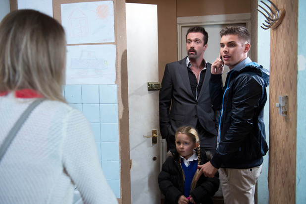 Amy&#39;s return surprises Ste and Brendan