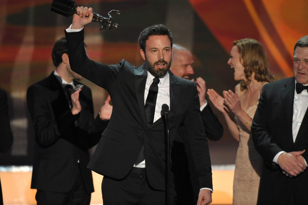Ben Affleck and the cast of 'Argo', SAG Awards 2013