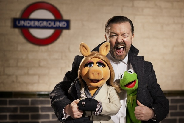 Os Muppets, Os Muppets ... Again!, Ricky Gervais