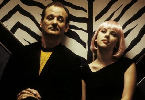 'Lost In Translation' still: Bill Murray, Scarlett Johansson