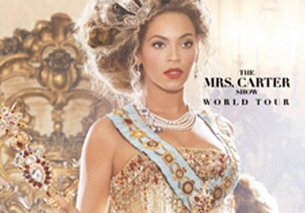 Beyoncé world tour - The Mrs Carter show