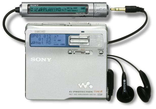 Sony Minidisc palyer