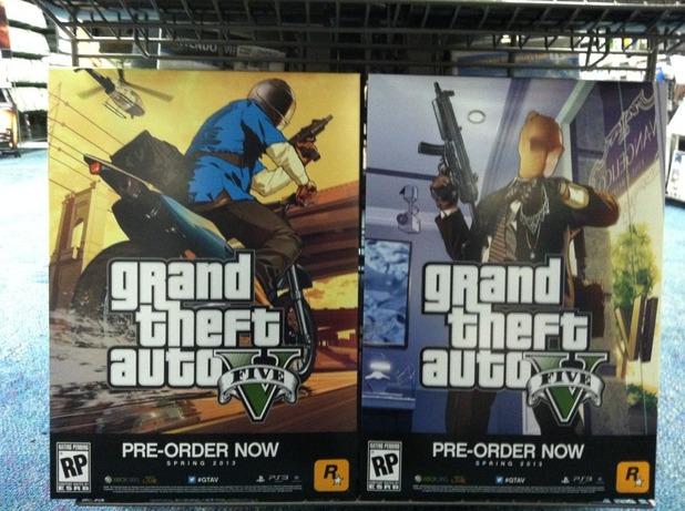 GTA 5 leaked pre-order posters