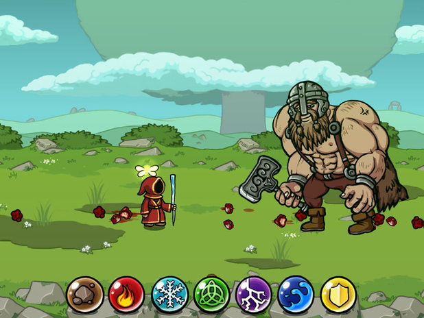 'Magicka - Wizards of the Square Tablet' screenshot