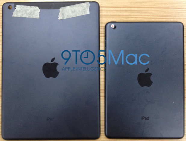 Apple iPad 5 'revealed in leaked images'