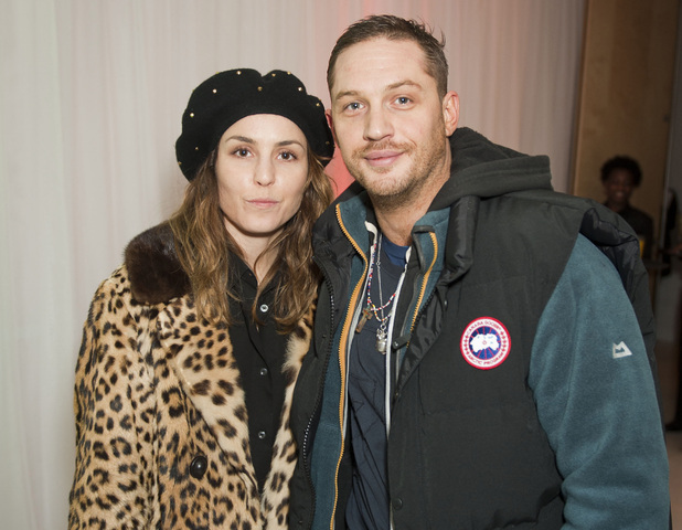 Noomi Rapace and Tom Hardy attend the English National Ballet's 'Nutcracker' in London - December 13, 2012