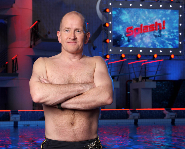 Eddie 'The Eagle' Edwards in Splash!