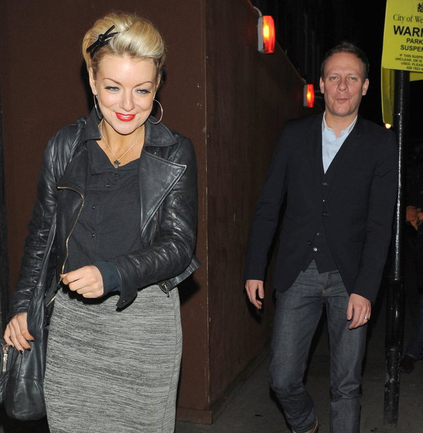 Sheridan Smith and Antony Cotton