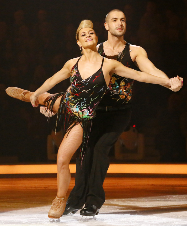 Dancing on Ice: Shayne Ward and Maria Filippov in the skate-off.