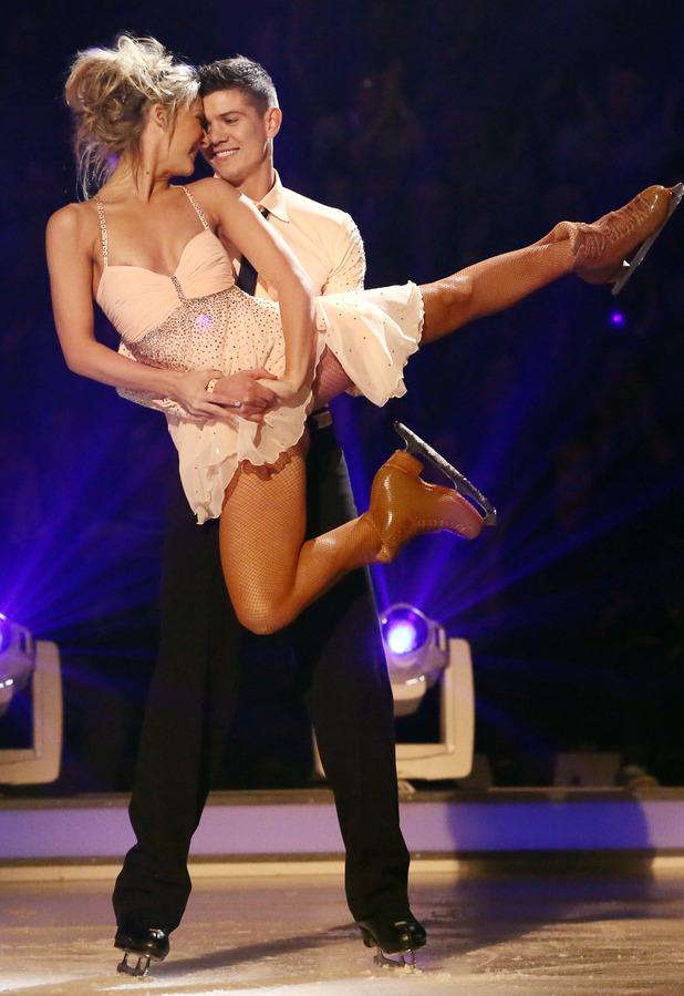 Dancing on Ice: Luke Campbell and Jenna Harrison