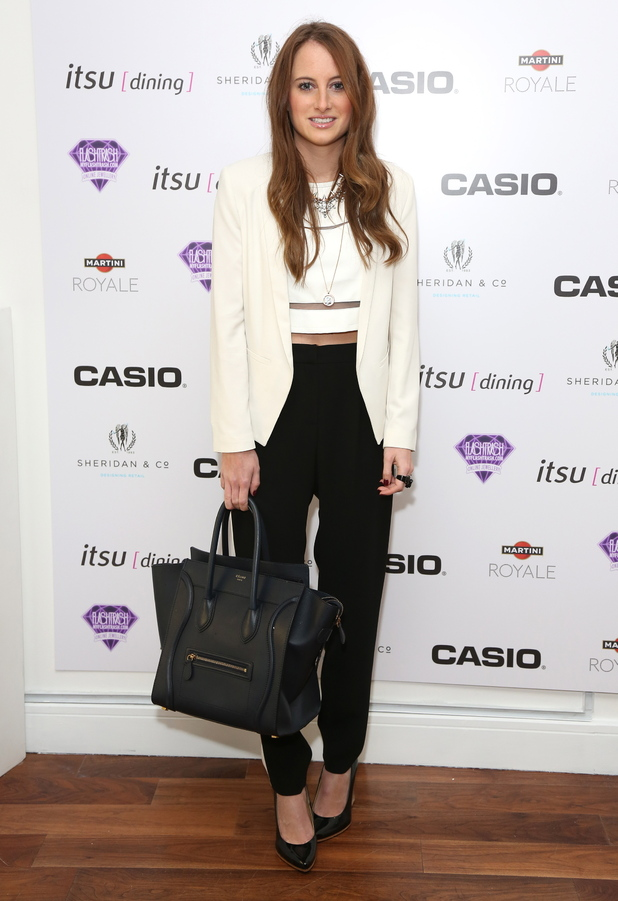 Rosie Fortescue, Casio Tokyo Trio Watch launch party
