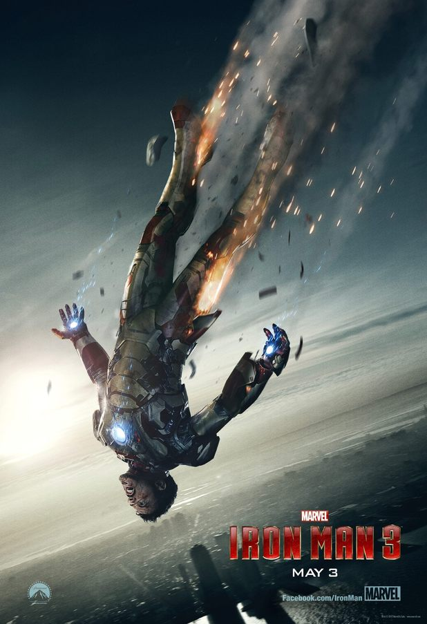 Tony Stark in freefall