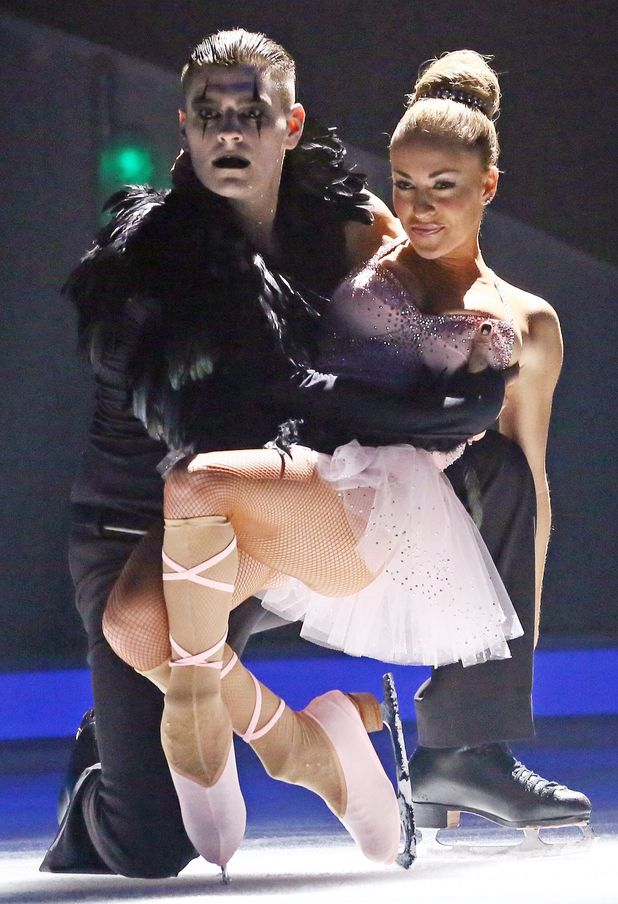 Dancing on Ice: Matt Lapinskas and Brianne Delacourt