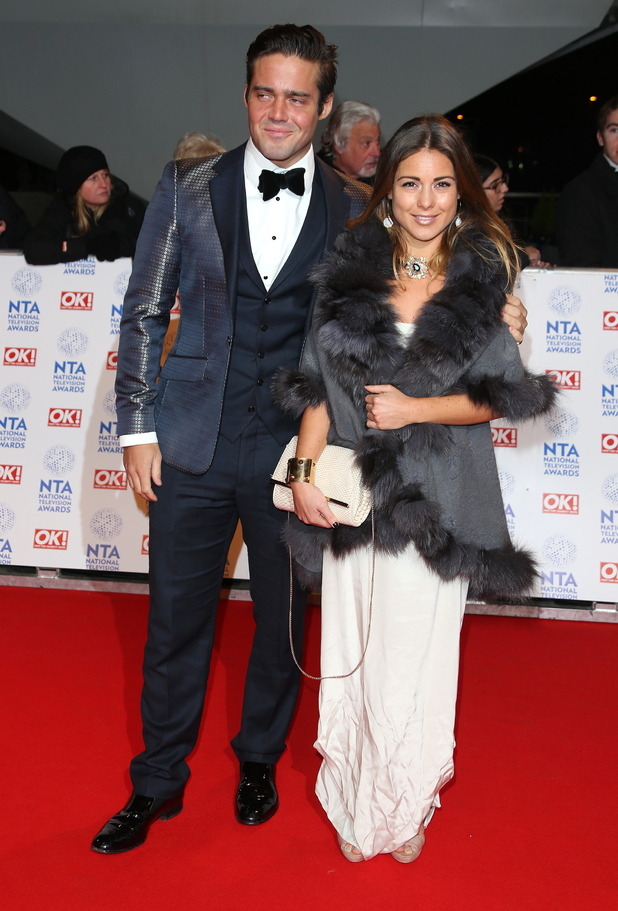 Spencer Matthews, Louise Thompson, The National Television Awards