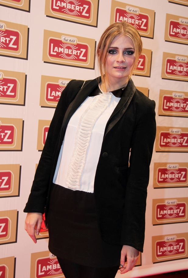 Mischa Barton, attending Lambertz Monday Night Party at Alter Wartesaal. Cologne, Germany