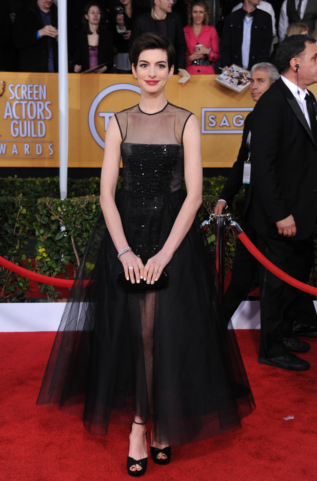 Anne Hathaway, 19th Annual Screen Actors Guild Awards
