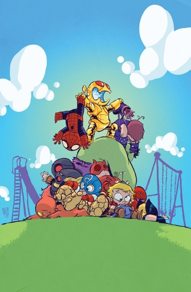Age of Ultron #1 Skottie Young variant