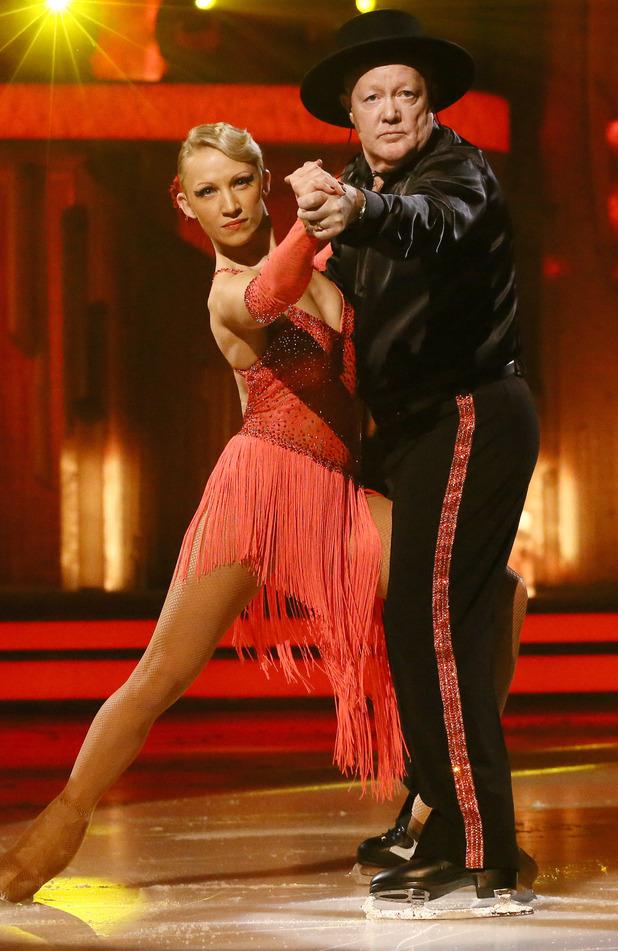 Dancing on Ice: Keith Chegwin and Olga Sharutenko