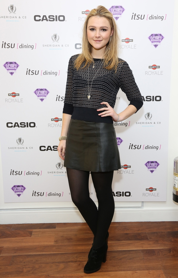 Amber Atherton, Casio Tokyo Trio Watch launch party held at the Study