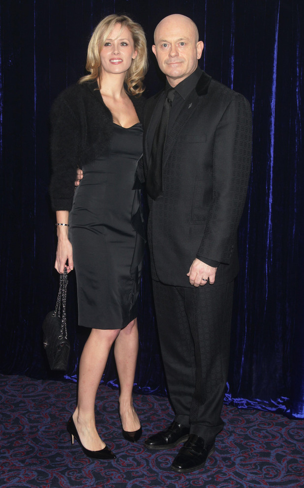 Ross Kemp, Renee O'Brien, The Retail Trust London Ball, at Grosvenor House Hotel in central London