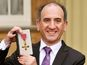 Armando Iannucci receives OBE - pictures