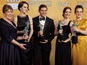 "'Downton' cast ""overwhelmed"" by SAG win"