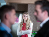 Amy's return surprises Ste and Brendan