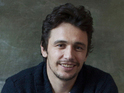 James Franco is promoting Oz the Great and Powerful at NASCAR opener.
