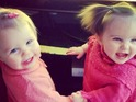 "The popstars share a picture of their ""cutest little girls"" holding hands."
