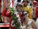 Dario Franchitti broke his back after a serious accident while racing in Houston.