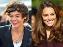 Harry Styles and the Duchess of Cambridge dazzle their way to 'best teeth' polls.