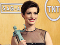 "Anne Hathaway says getting her SAG card felt like ""the beginning of the world""."