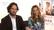 Paul Rudd, Leslie Mann 'This Is 40' interview
