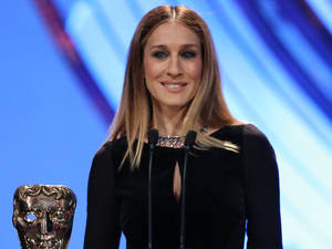 BAFTA Ceremony: Sarah Jessica Parker presents the BAFTA for Best Actor.