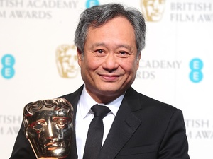 BAFTA 2013: Ang Lee with the award for Best Cinematography for &#39;Life of Pi&#39; which he accepted on behalf of Claudio Miranda.