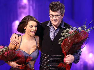Dancing on Ice: Joe Pasquale and Vicky Ogden.
