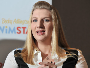 Rebecca Adlington announces her retirement from competitive swimming during a press conference held at the InterContinental WestminsterFeaturing: Rebecca Adlington